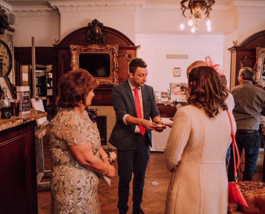Cardiff magician for weddings