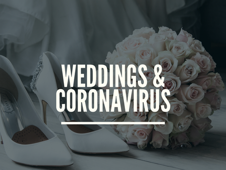 Weddings & Corvid - What you need to know