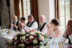 newport magician amazes at wedding