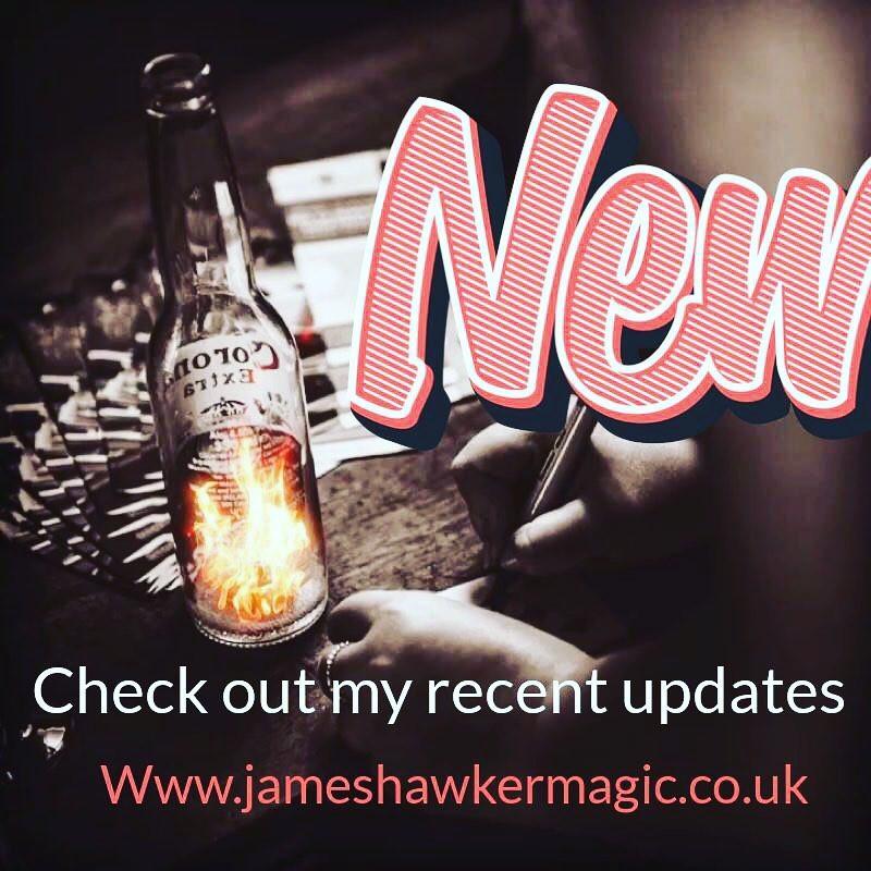 wedding magicians cardiff new website updates