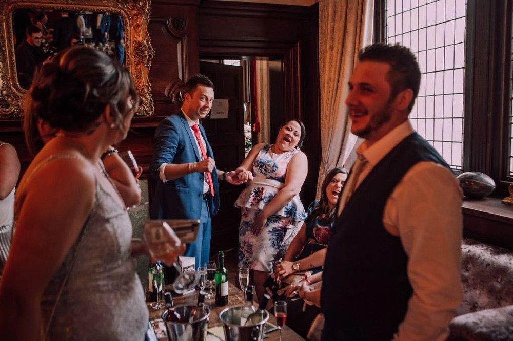 cardiff magician & wedding magician performs at the coal exchange