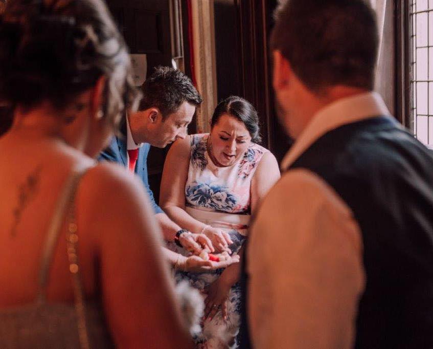 cardiff magician, wedding magician