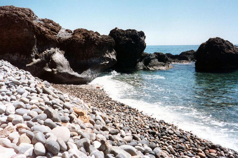 Rocky cove Crete