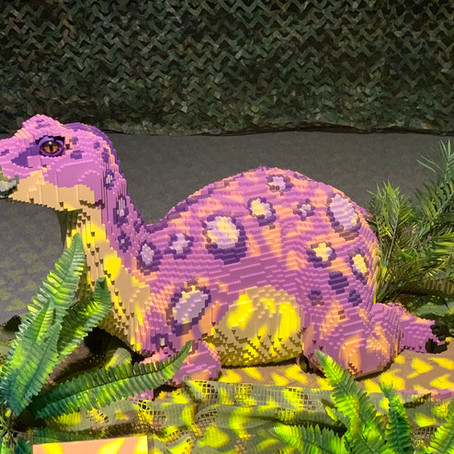 The Kingdom of Dinosaurs Exhibit in Eilat