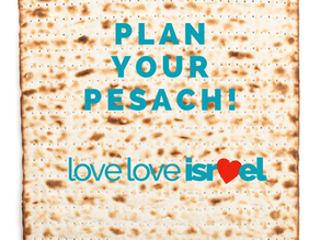 Plan your Pesach!