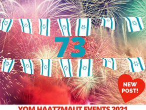 Yom Haatzmaut 2021 Events!