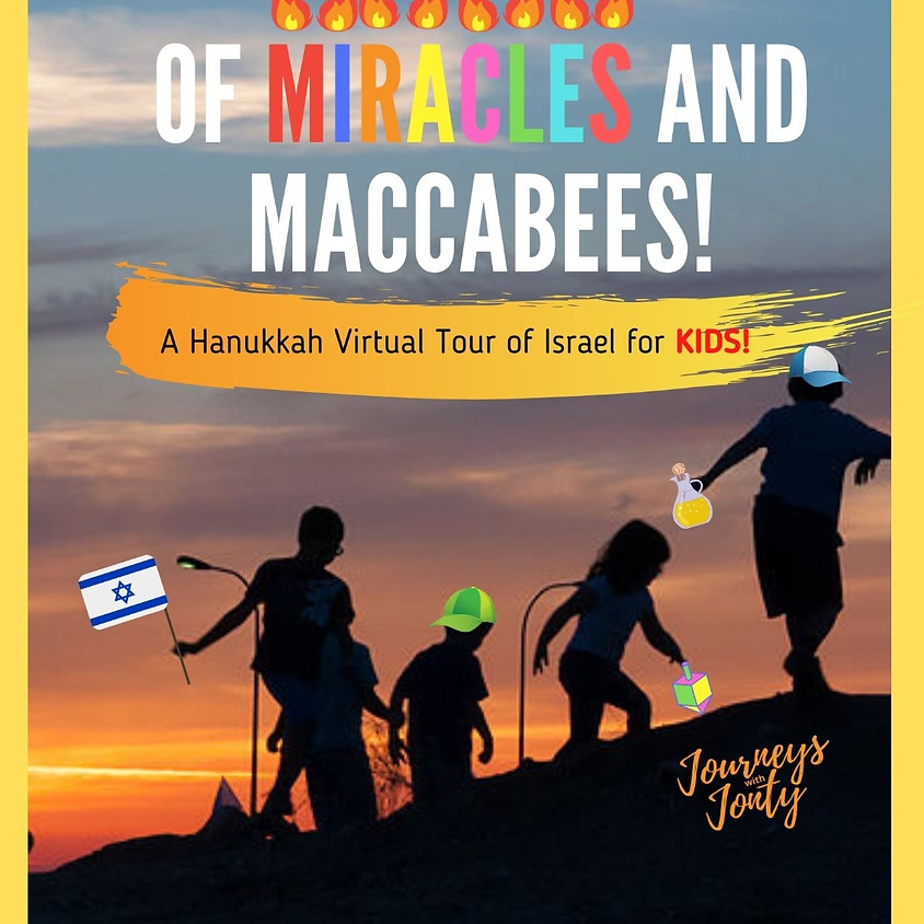 JOURNEYS with JONTY - OF MIRACLES AND MACCABEES!