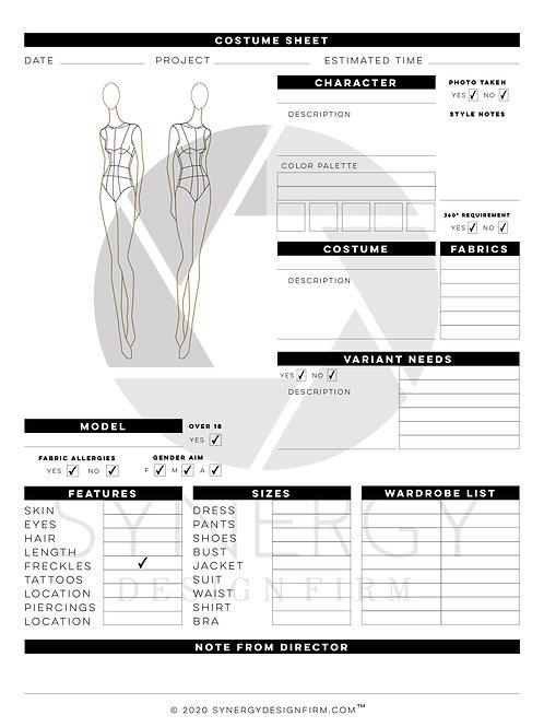 Creative Bundle Call Sheet