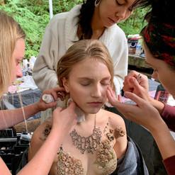 On set of Neverland