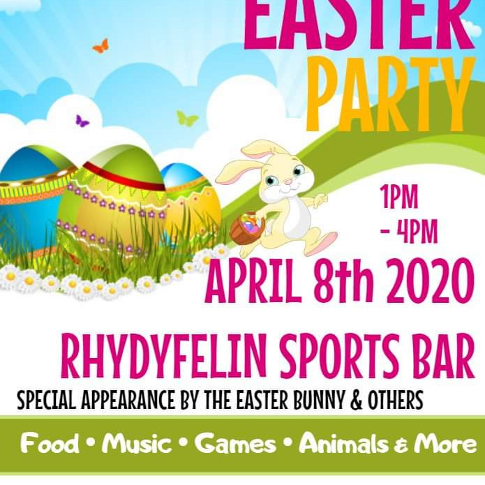 Roly Poly's Easter Party POSTPONED