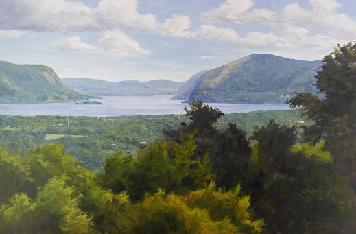 Hudson River from the Hilltop  24x36