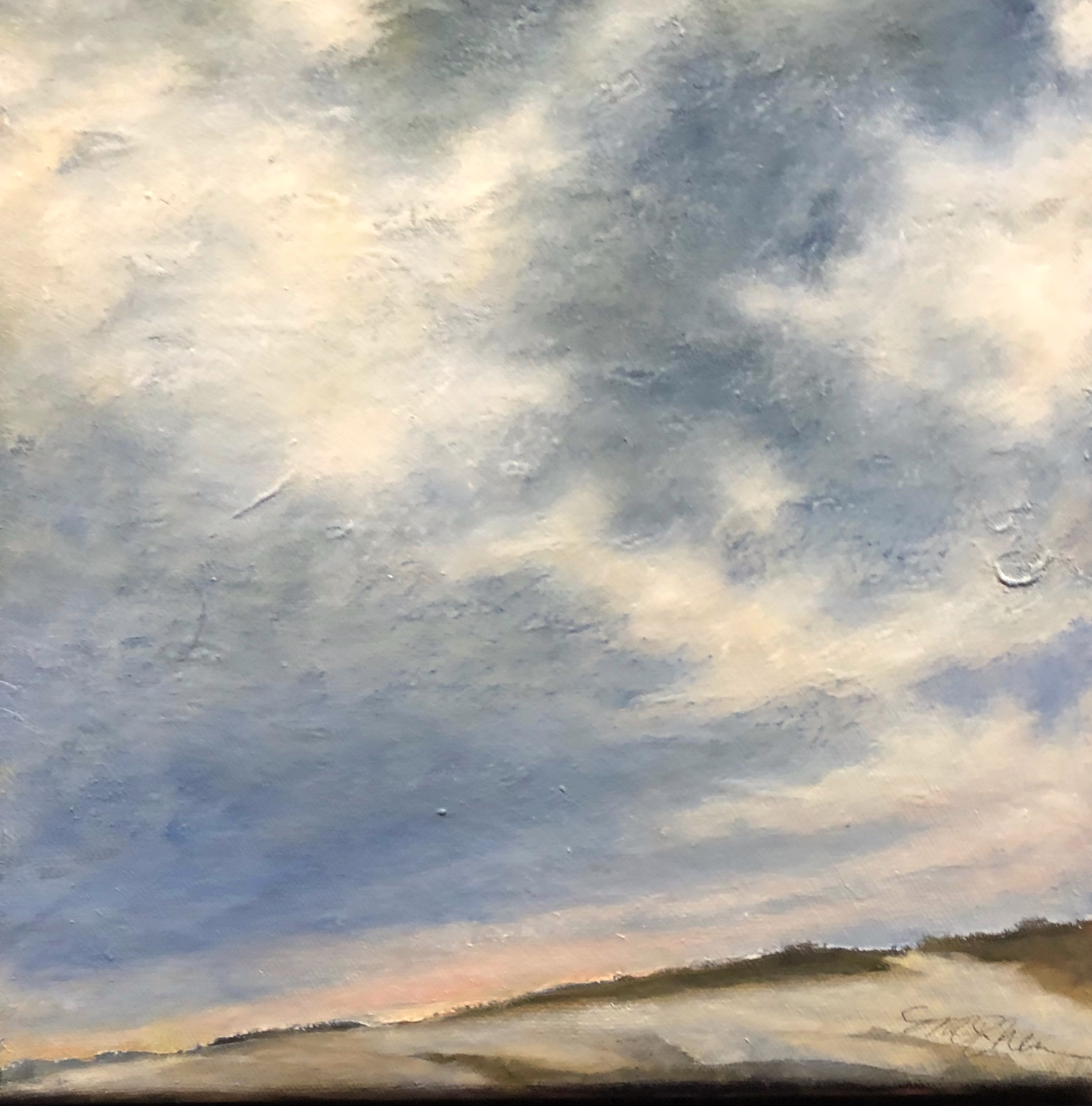 Sky by the Sea. Ellen Metzger O'She