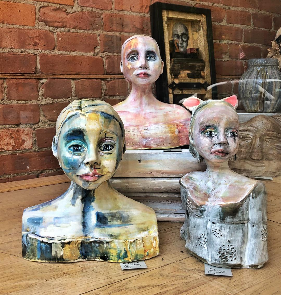 sculpture, Patricia Peer