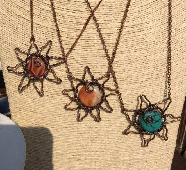 Sun Pendants - $55