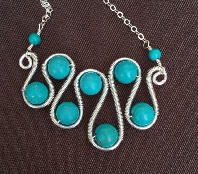 Swirl Pendant - $105