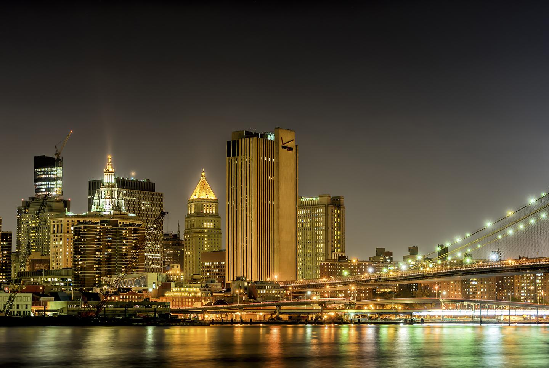 Brooklyn Bridge and City Hall