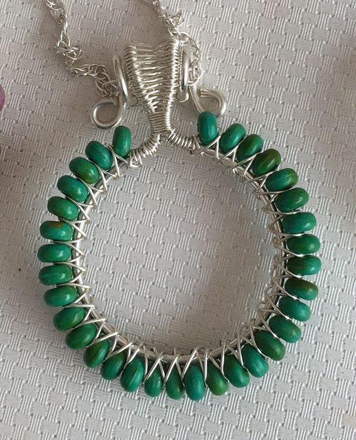 Circle Pendant - $105
