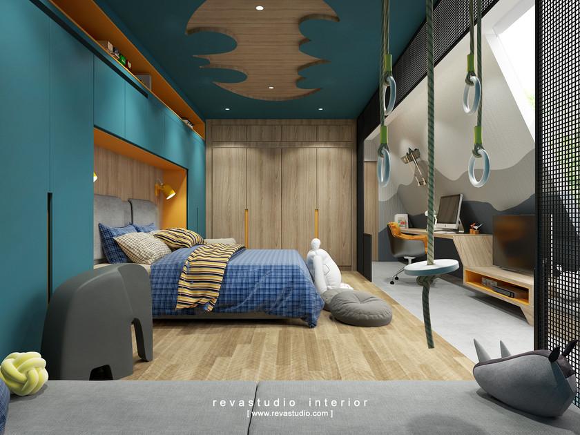 DL 20190813 - Atung Bong - Boys Bedroom
