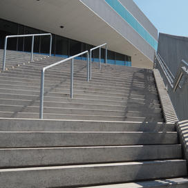 Stairs in public space