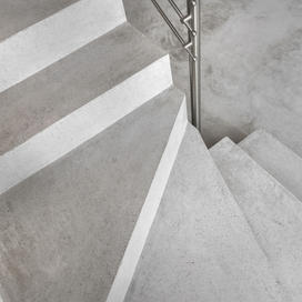 Indoor parking stairs