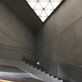 High walls indoors