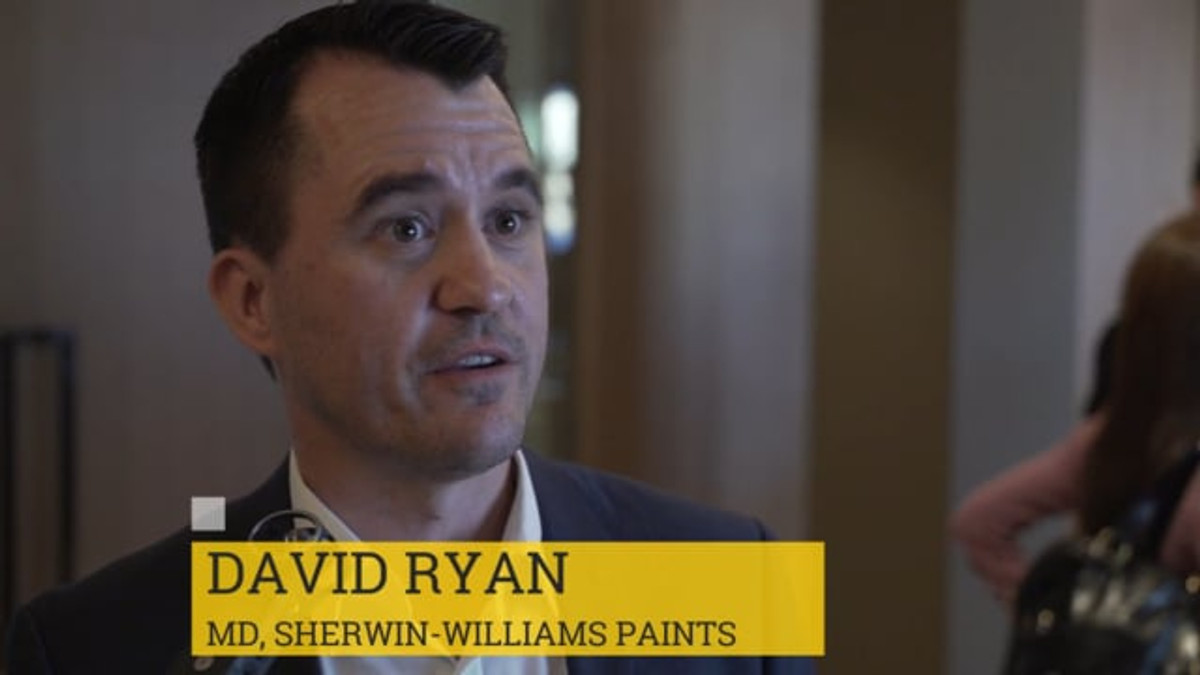 David Ryan, Sherwin-Williams - Sales Director Europe