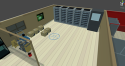 Server Room Unfinished Business