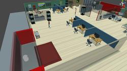 Work Stations & Entrance Unfinished Business