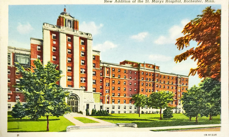 New Addition of the St. Mary_s Hospital,