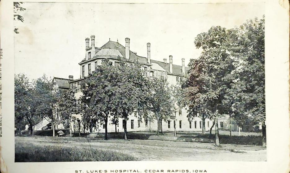 St. Luke_s Hospital, Cedar Rapids, Iowa.