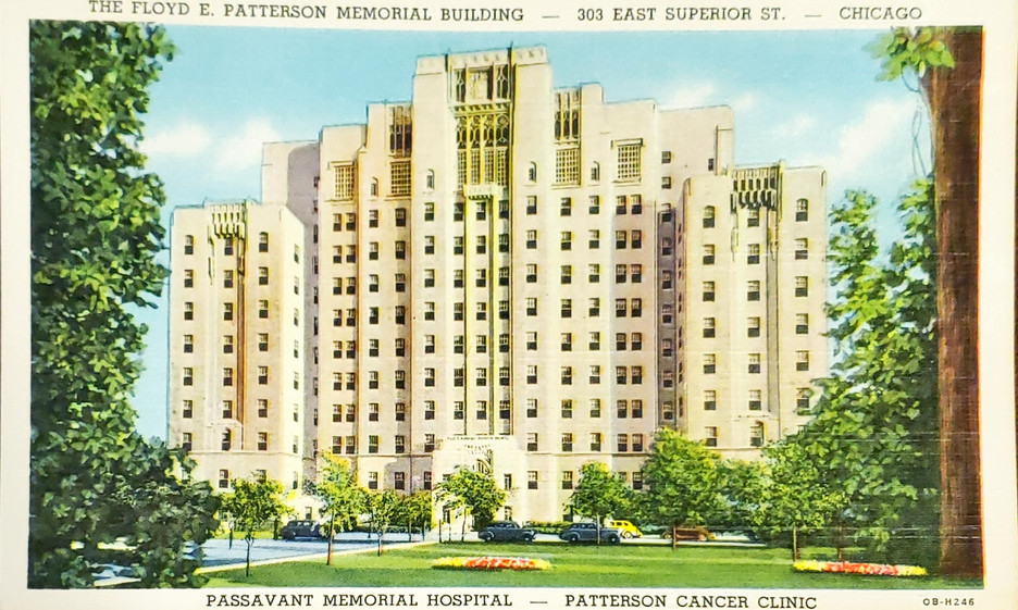 The Floyd E Patterson Memorial Building,