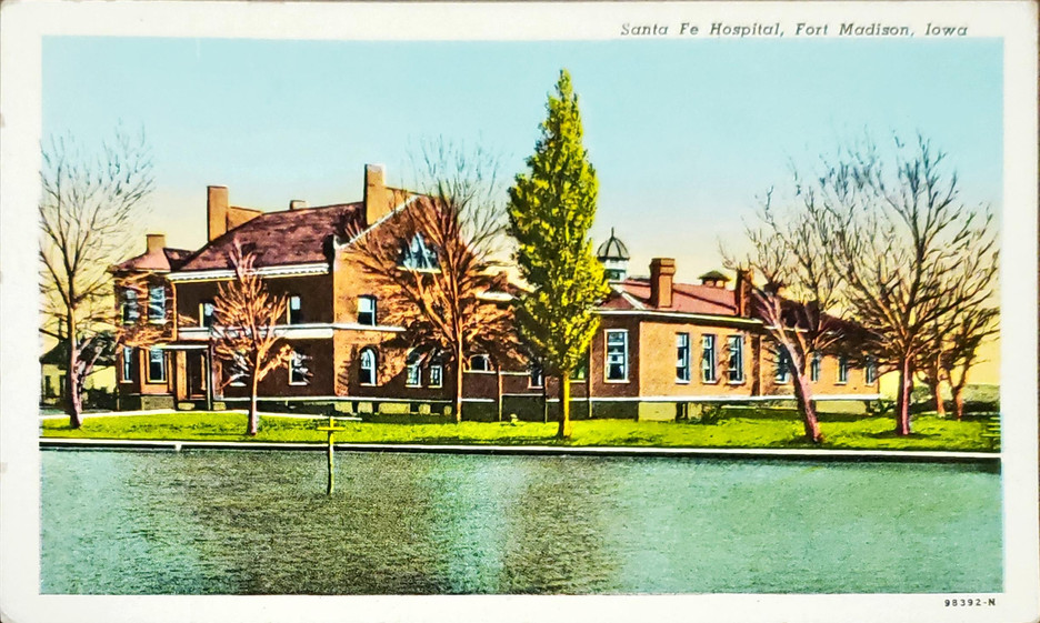 Sante Fe Hospital, Fort Madison, Iowa.jp