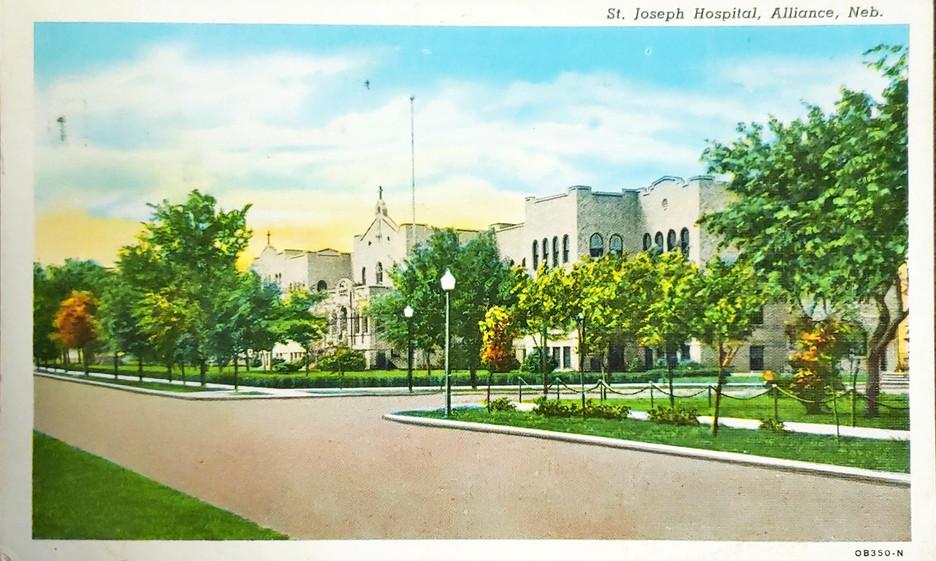St. Joseph Hospital, Alliance, Nebraska.