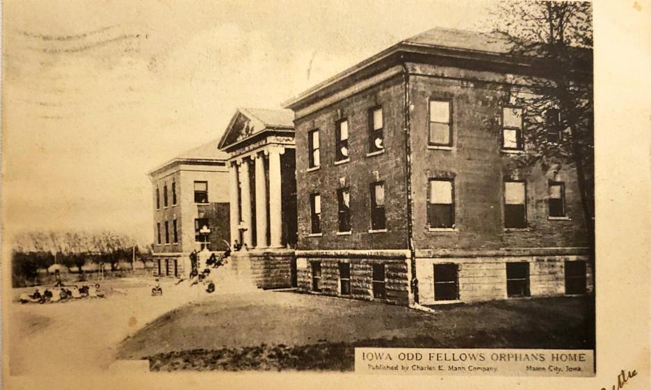 Iowa Odd Fellows Orphan Home Mason City,