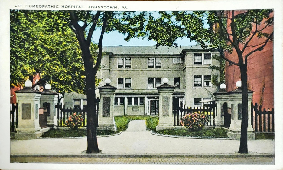 Lee Homeopathic Hospital, Johnstown, Pen