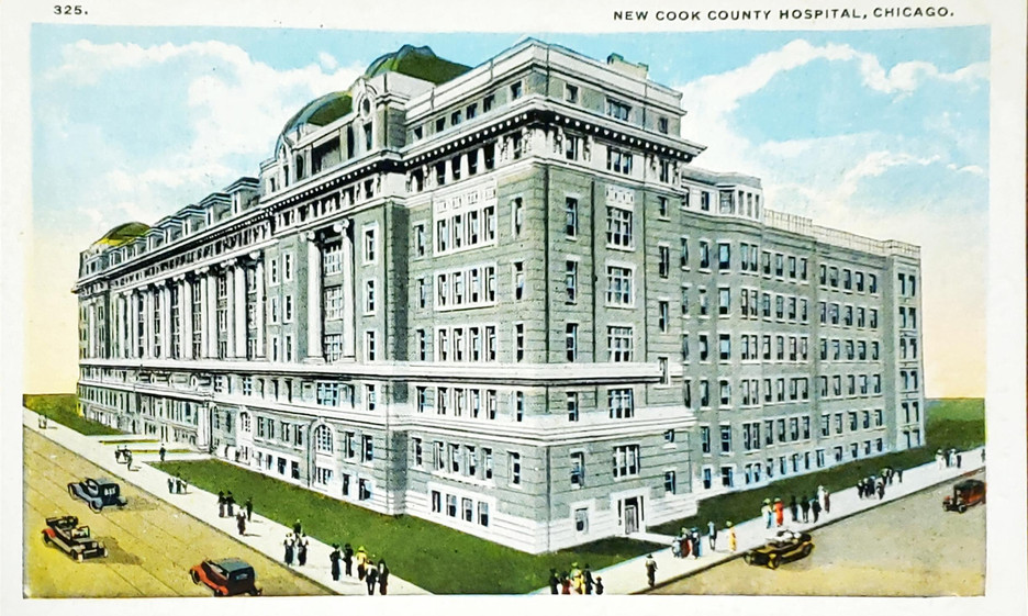 New Cook County Hospital, Chicago, Illin