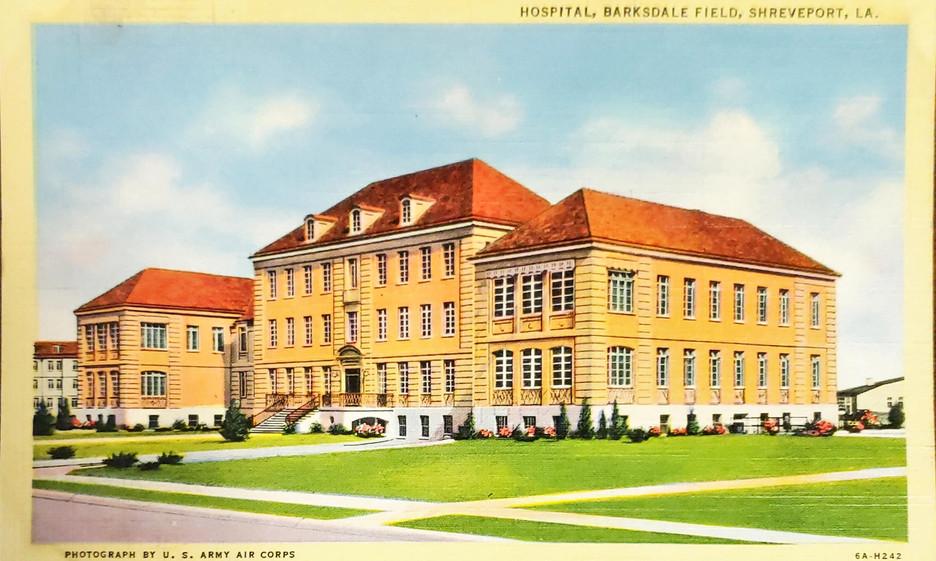 Hospital, Barksdale Field, Shreveport, L