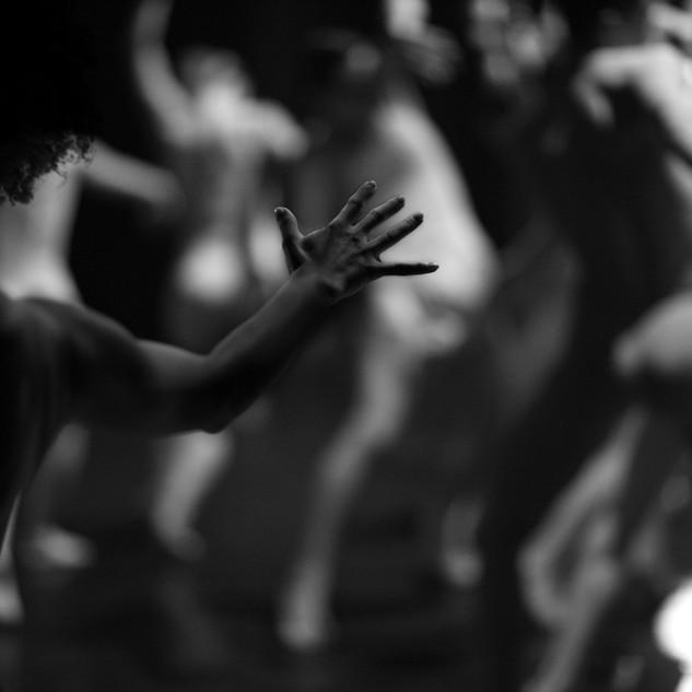 Blurry Image de danseurs