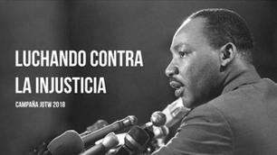 Martin Luther King: Luchando contra la injusticia