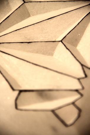 Star dust, 2013, Stone, 60 x 45 x 21 cm, detail