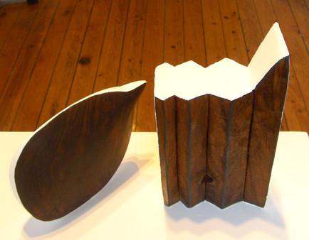 The winter's tale, 2010, Wood acrylic, 40 x 20 x 12 cm