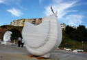 Asia Bird, 2011, Stone, 200 x 200 x 55 cm