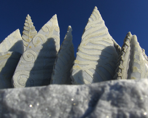 4. Memorial Forest,detail. marble. 110x1
