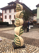 To be tree or not, 2017, Wood, 220 x 55 x 45 cm