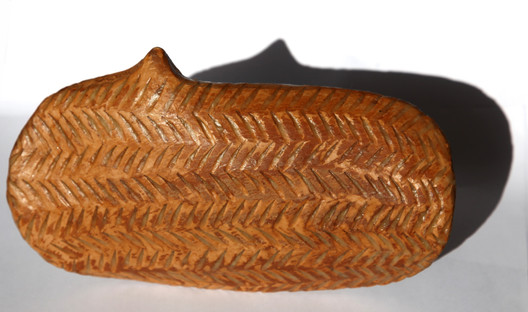 Full with words seven, 2010, Terracotta, 17 x 11 x 6 cm