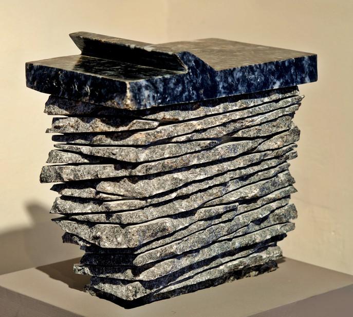 Heavy Novel, 2010, Stone, 50 x 45 x 30 cm