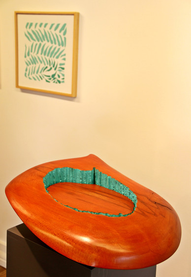 Sentimental, Wood, Acrylic, 65 x 40 x 18 cm