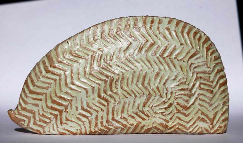 Full with words thirteen, 2010, Terracotta, 7 x 6 x 2 cm