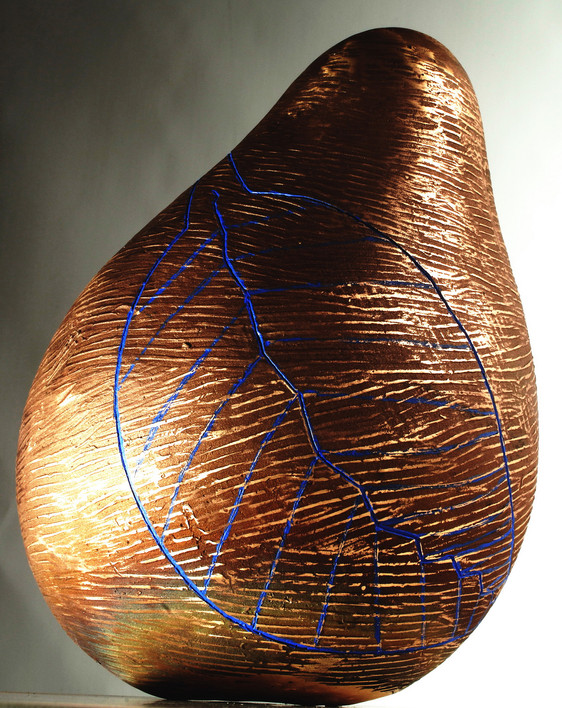Cause Words are Embedded in You, 2008, Bronze, 50 x 35 x 35 cm