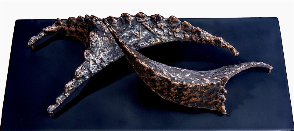 Stars of Efeler, 2017, Bronze, 56 x 30 x 18 cm